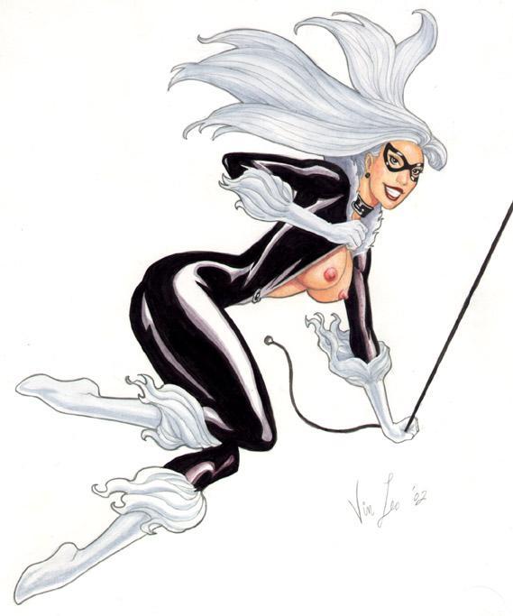 Black Cat | Marvel comics hentai