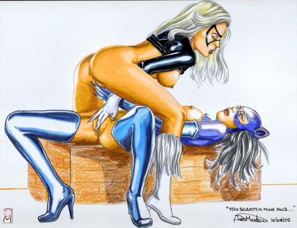 Think, black cat and catwoman lesbian porn remarkable