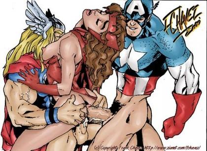 Free Marvel Hentai